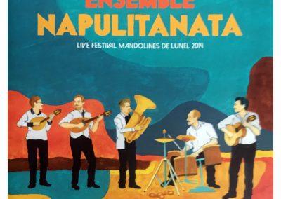 ENSEMBLE NAPULITANATA – LIVE FESTIVAL MANDOLINES DE LUNEL 2014