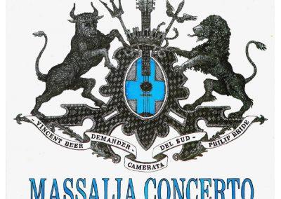 MASSALIA CONCERTO – V. BEER-DEMANDER / P. BRIDE / CAMERATA DEL SUD